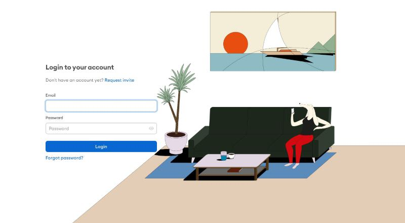 Log In to Your Account Form