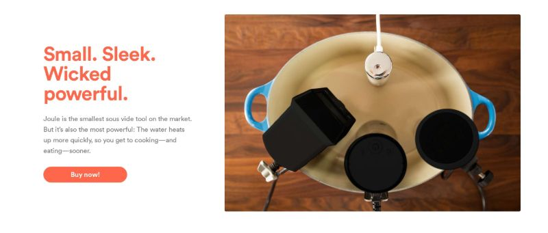 Product Feature with CTA & Photo