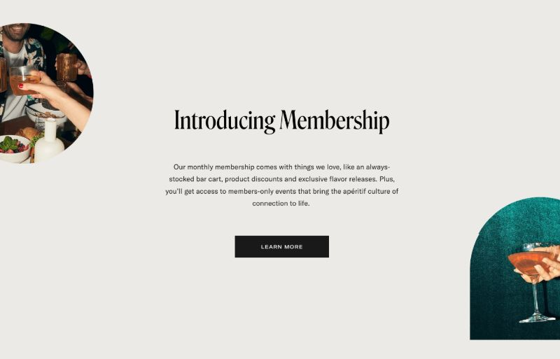 Membership Details with CTA