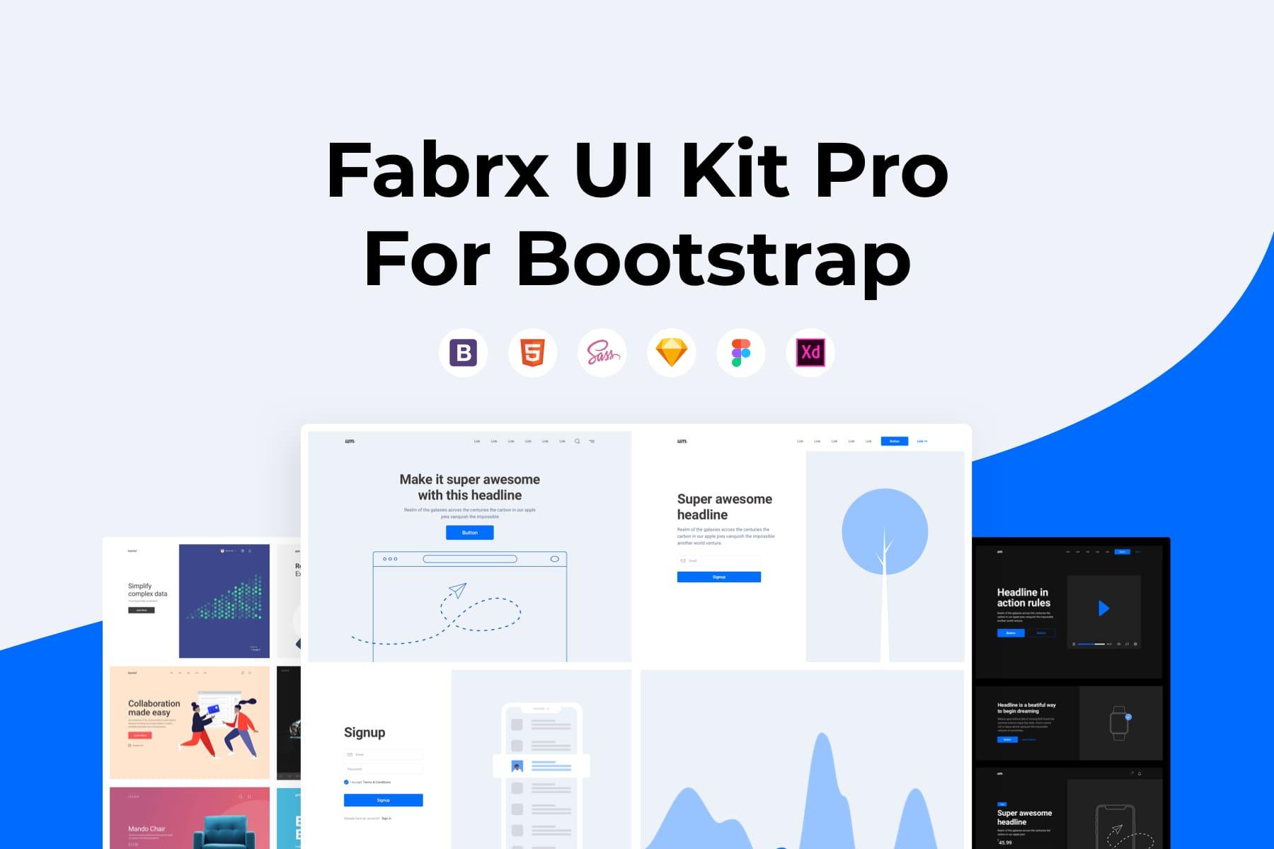 Fabrx UI Kit Pro