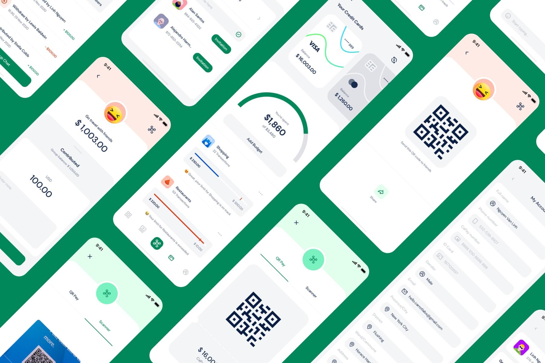 Payments iOS UI Kit
