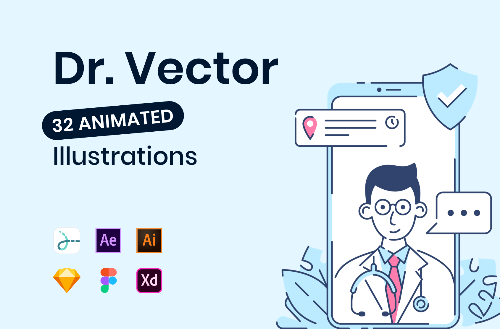Lottie Animations & Vector Illustrations