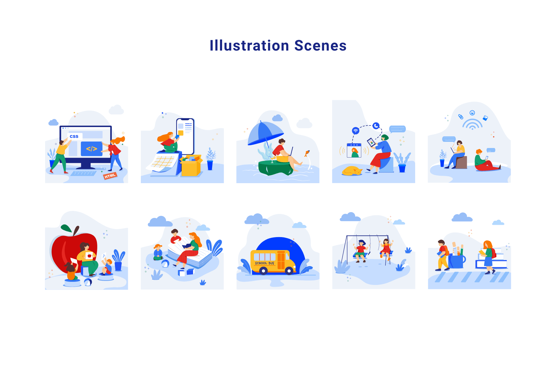 Illustration Library & Creator