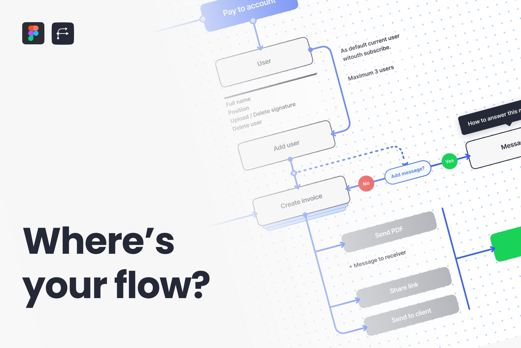 Figma User Flow UI Kit