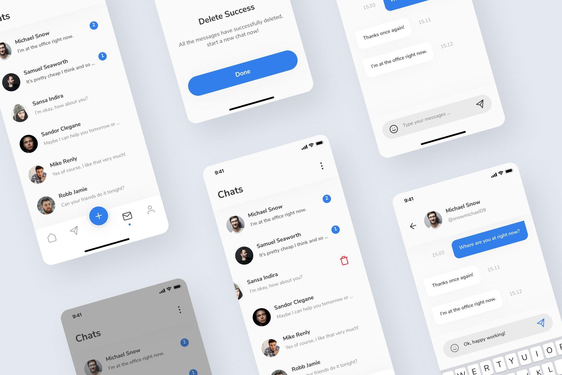 Social Media UI Kit