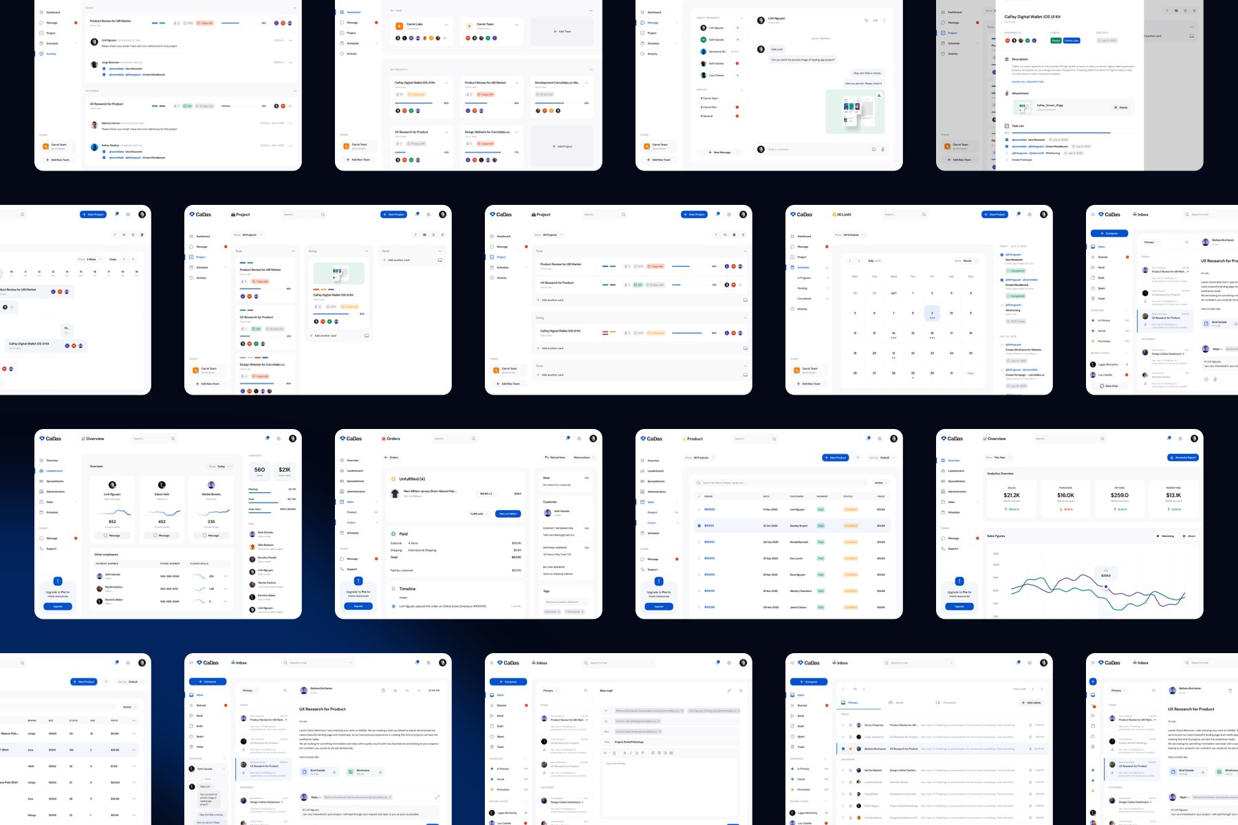 Dashboard UI Kit for Various Need