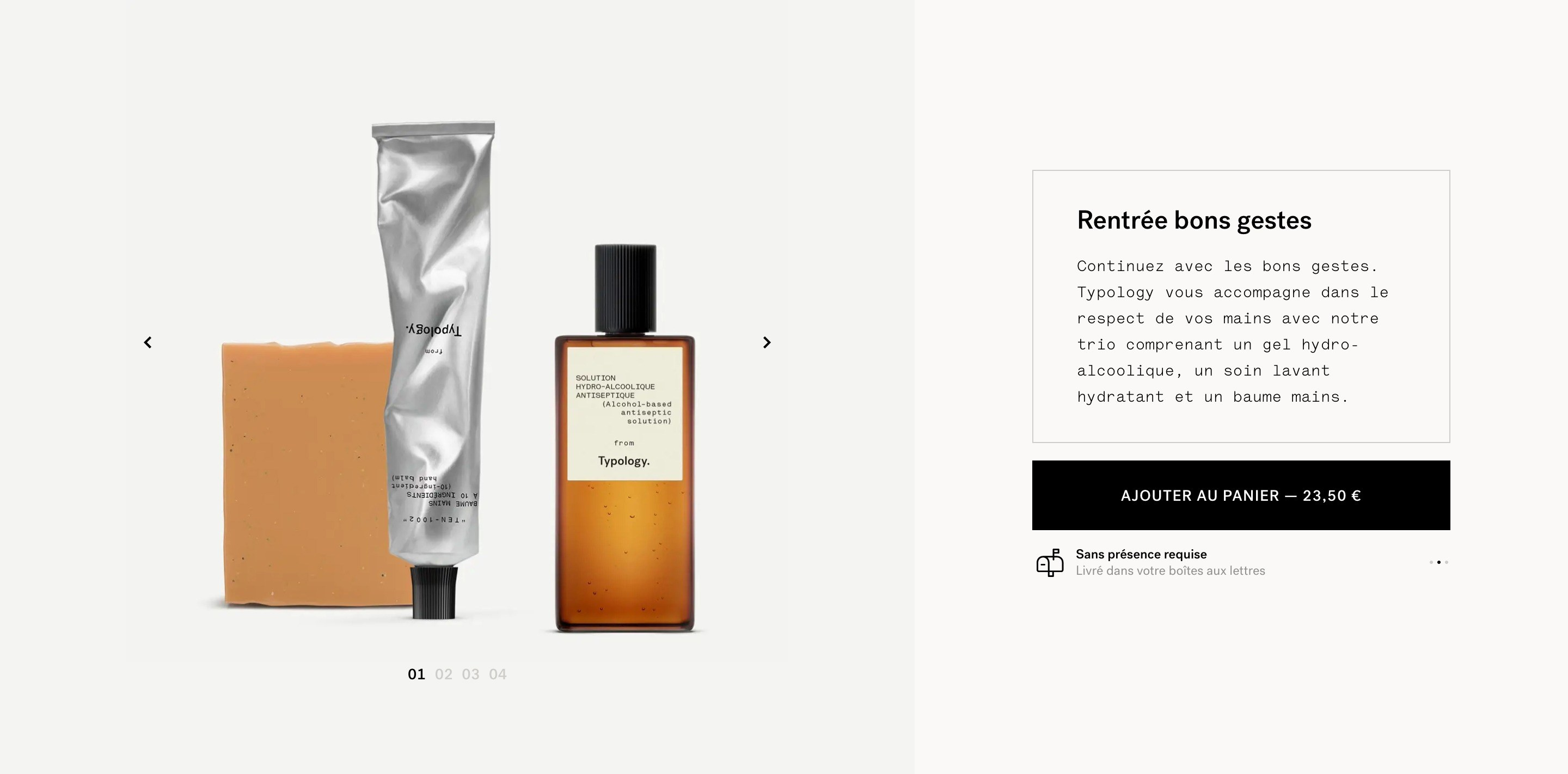Ecommerce Block with Product Images Slider