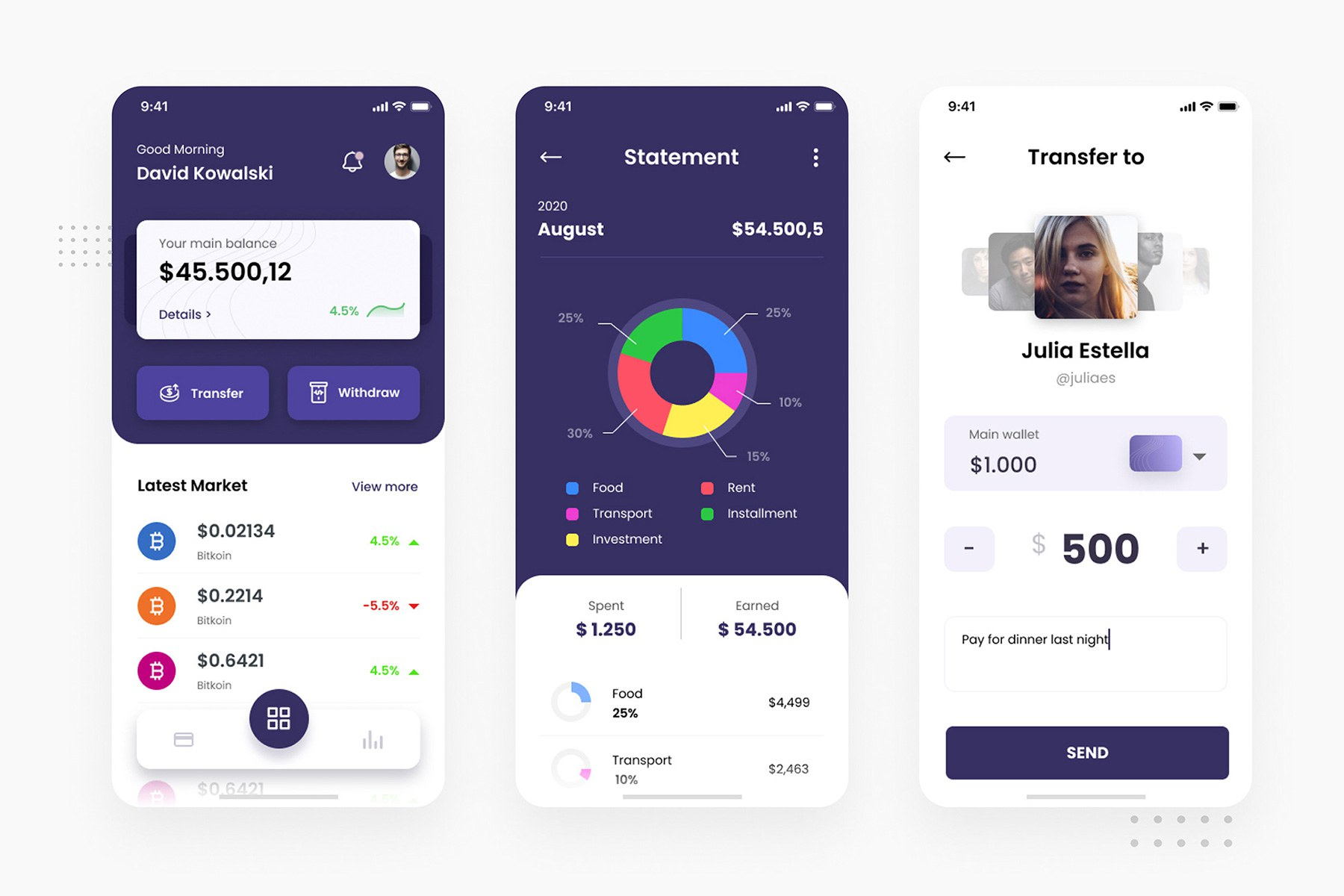 Crypto Wallet iOS App
