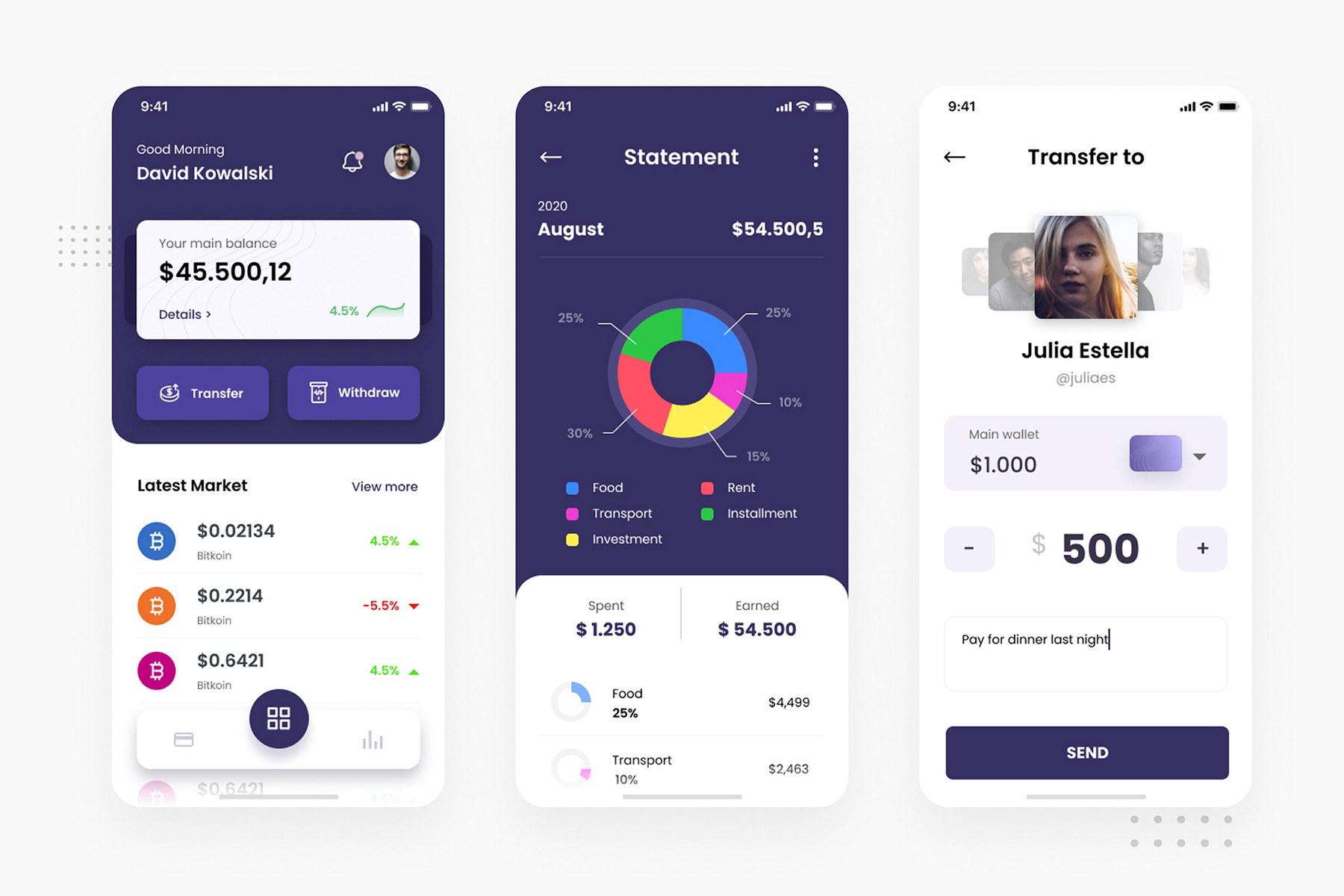 Crypto Wallet iOS App