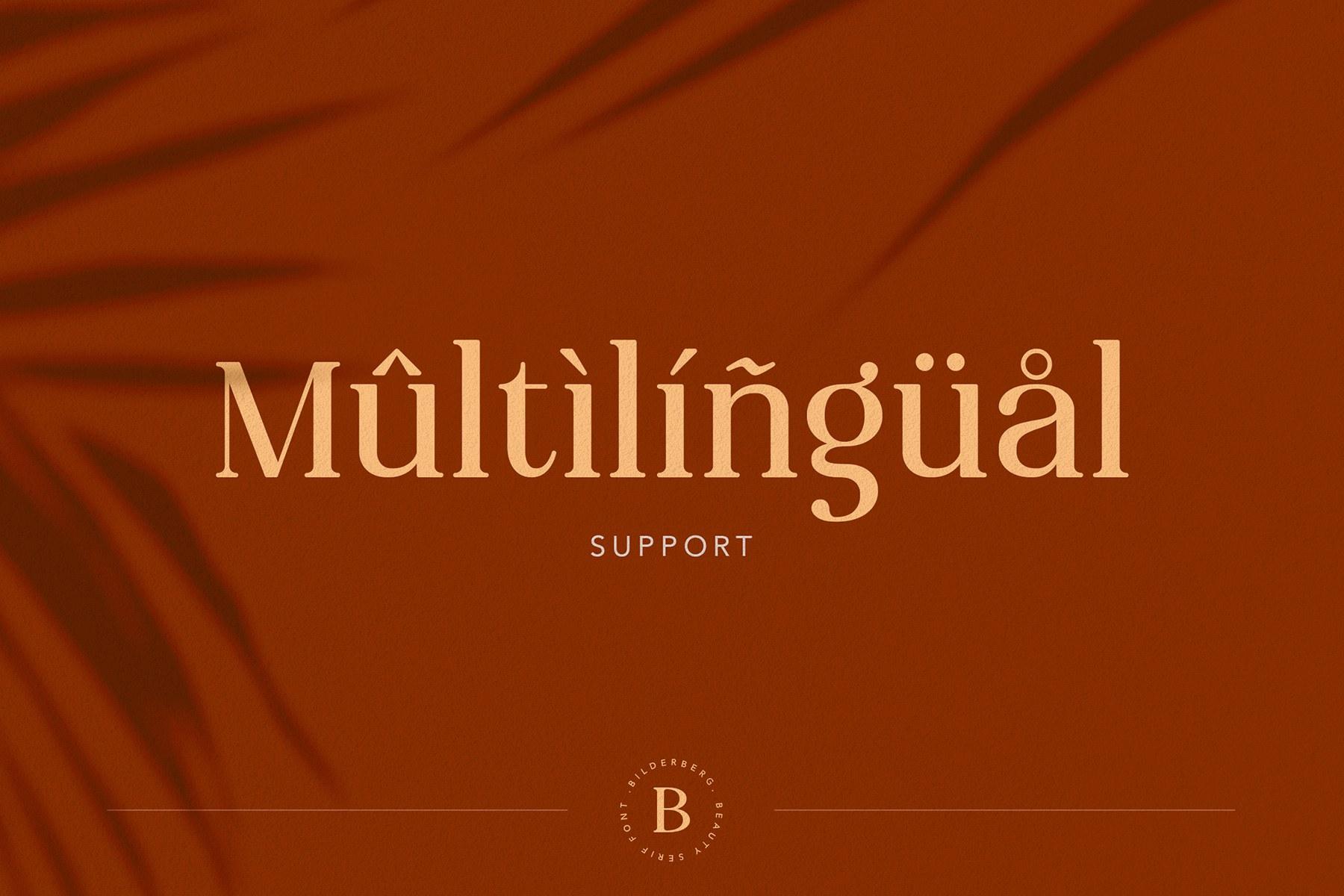 Elegant and Modern Vintage Font