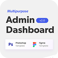 Multipurpose Admin Dashboard