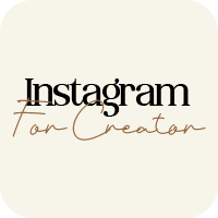 Minimalist Instagram for Creator