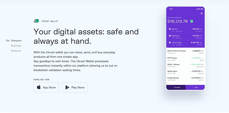 Feature Block with App Mockup