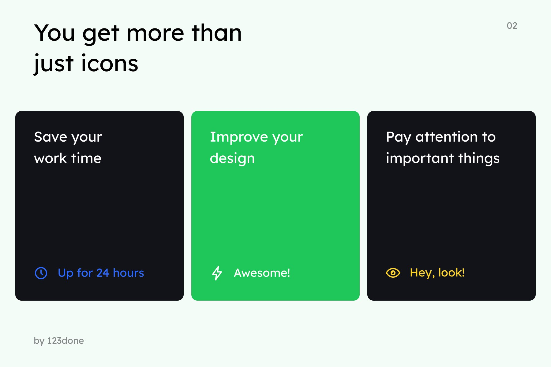 Business and Finance Icons in 3 styles