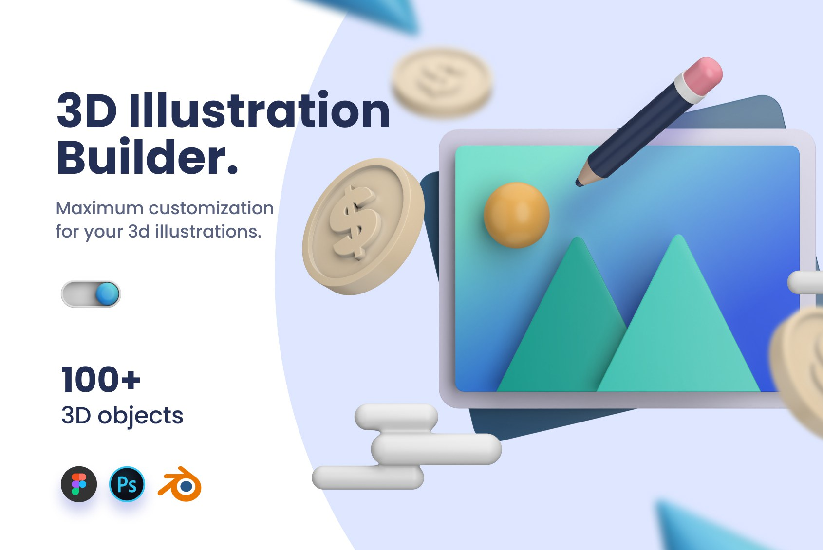 3D Illustration Library