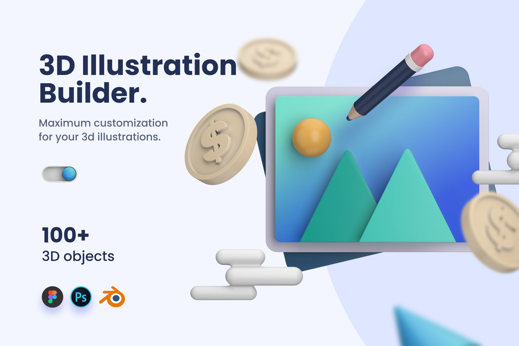 3D Illustration Builder
