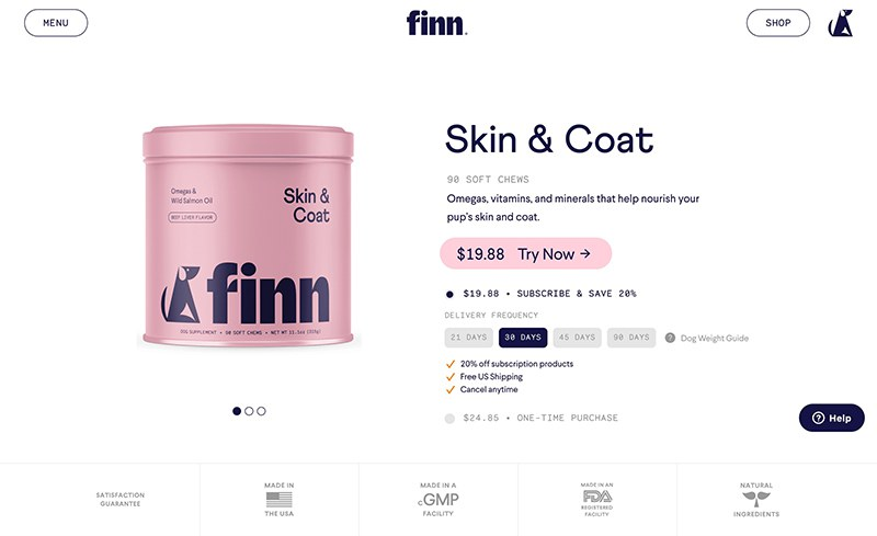 Ecommerce Block with Product Image Slider