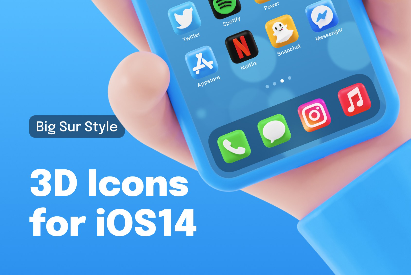 Big Sur Styled Icons for iOS 14