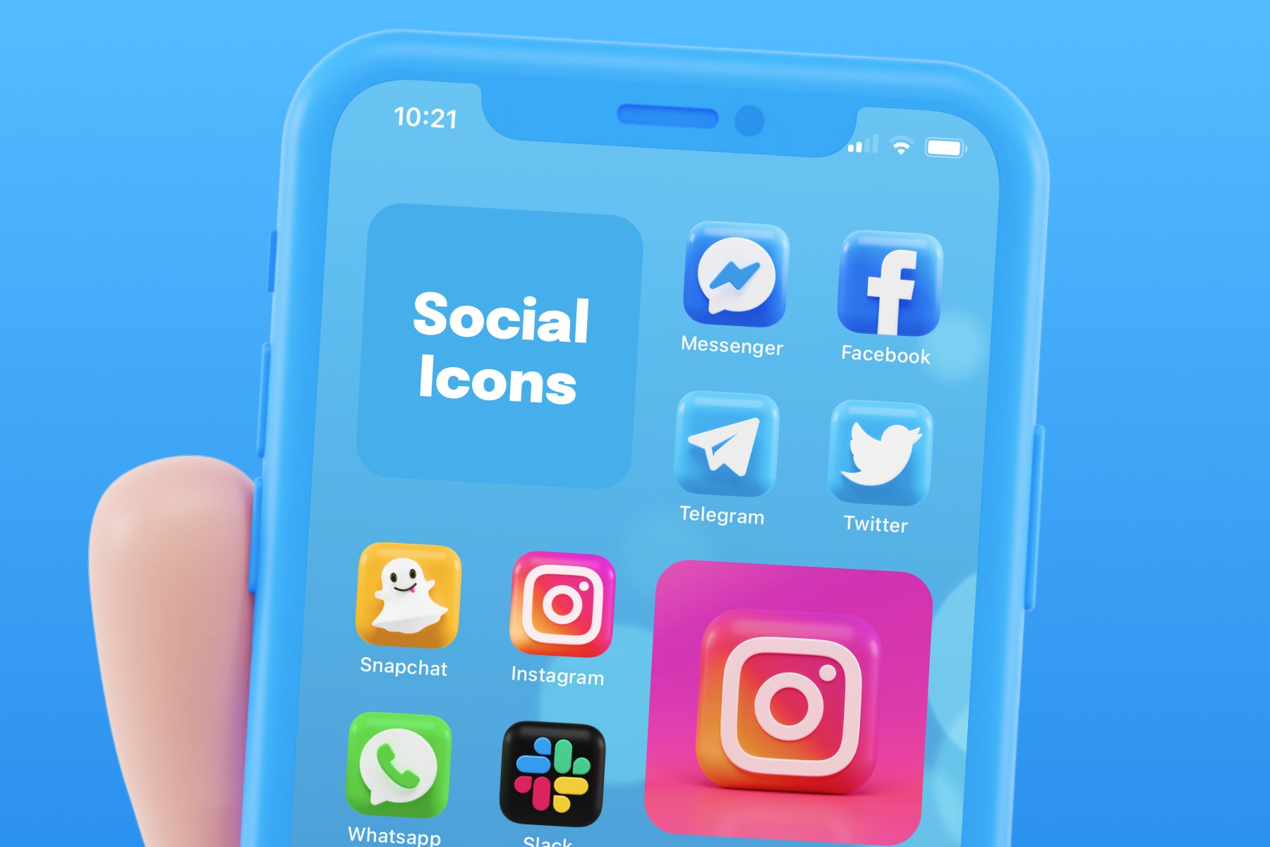3D App Icons for iOS 14