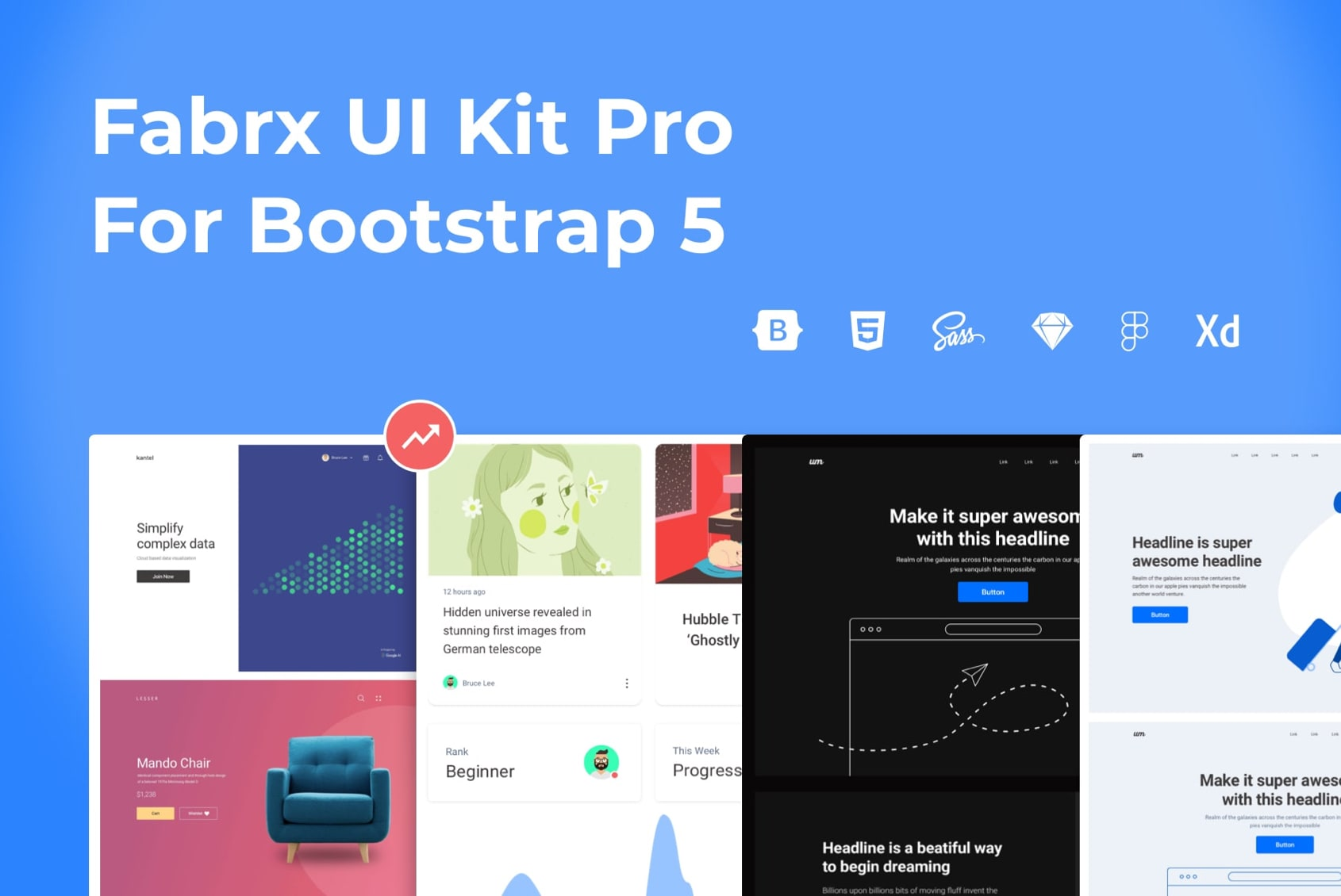 UI Kit for Bootstrap 5