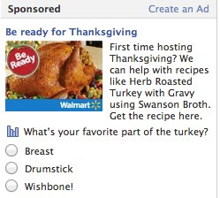 Thanksgiving Ad (for Vegetarians)