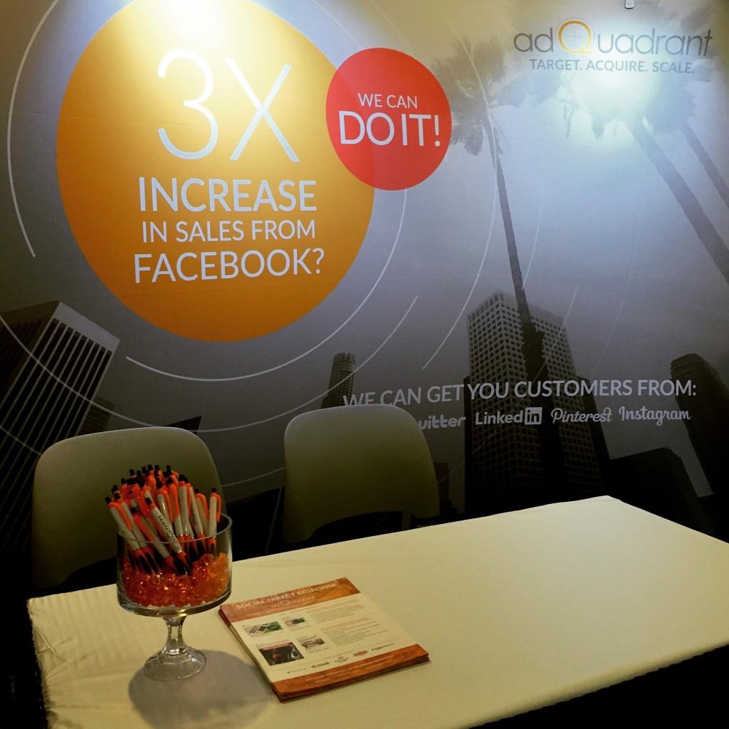 adQuadrant Booth at LeadsCon