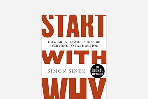Cover of Start With Why: How Great Leaders Inspire Everyone To Take Action