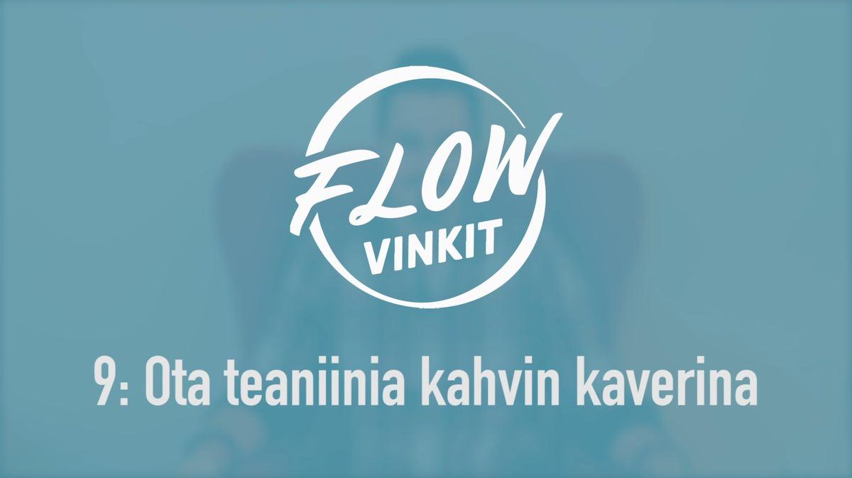 Flow-vinkki 9: Ota teaniinia kahvin kaverina