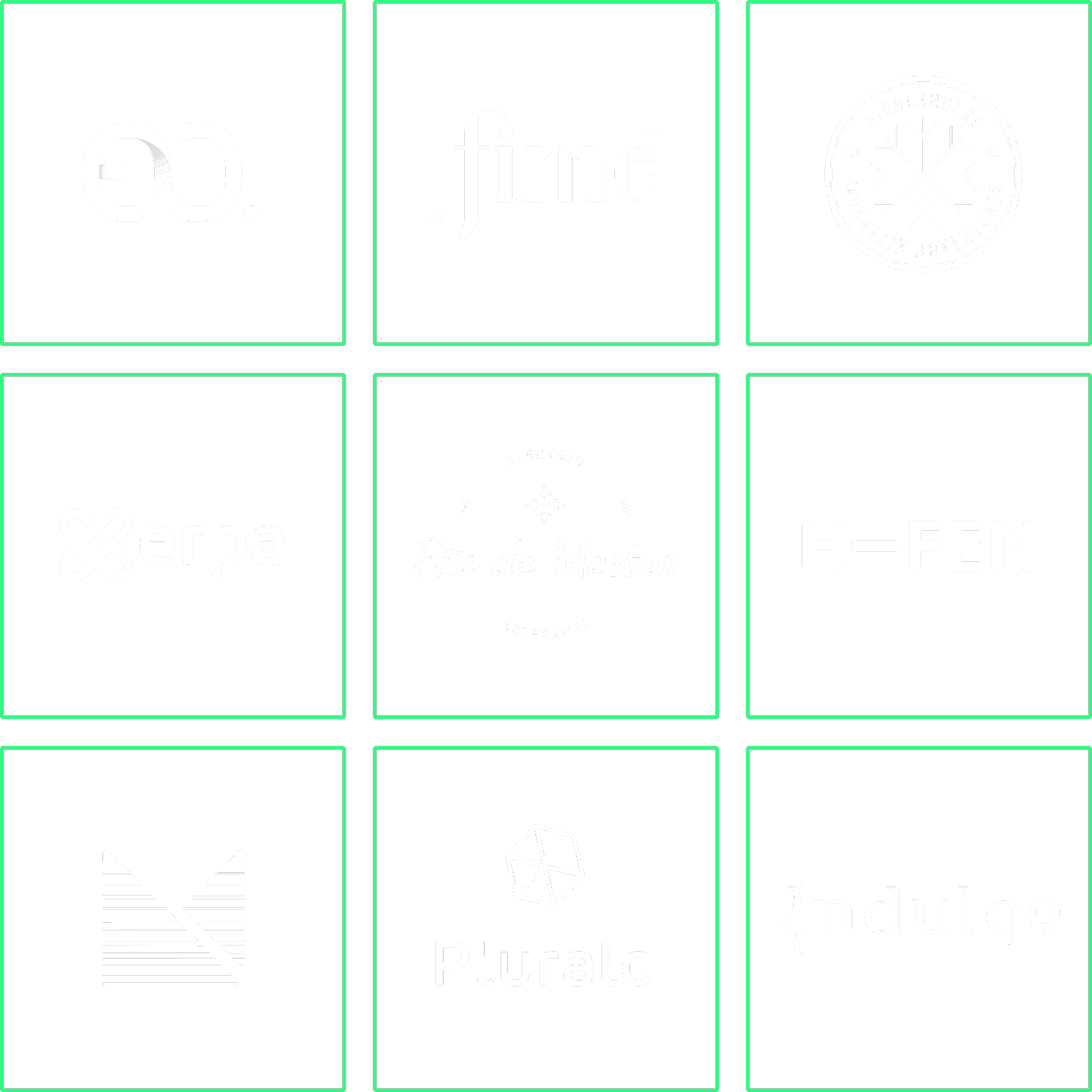 Several Logotypes designed by Pathfinders