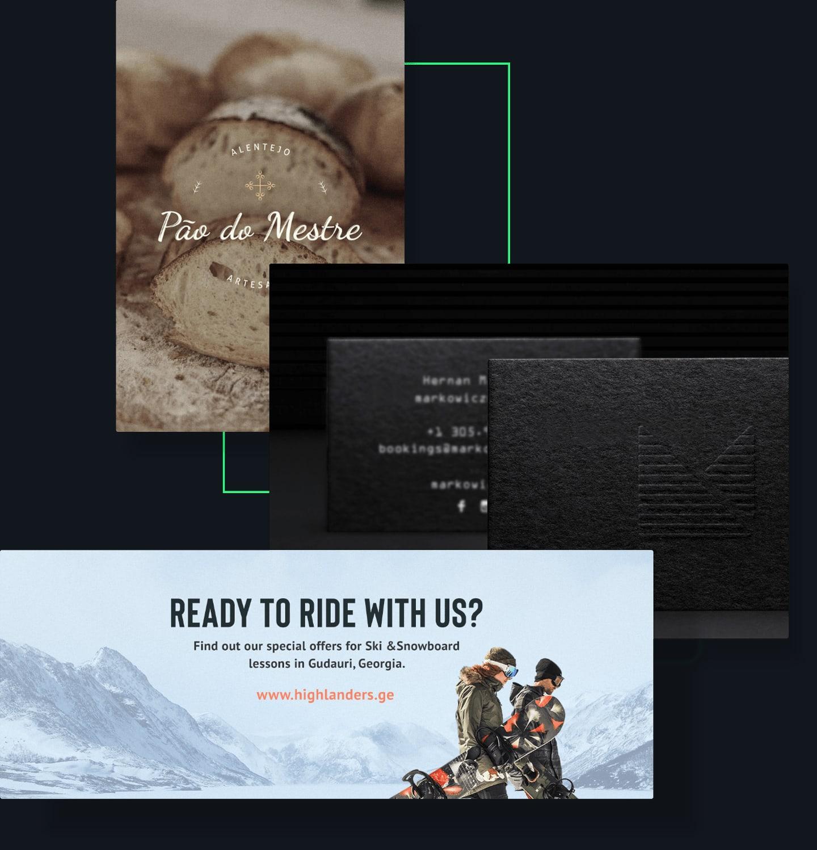 Marketing materials examples