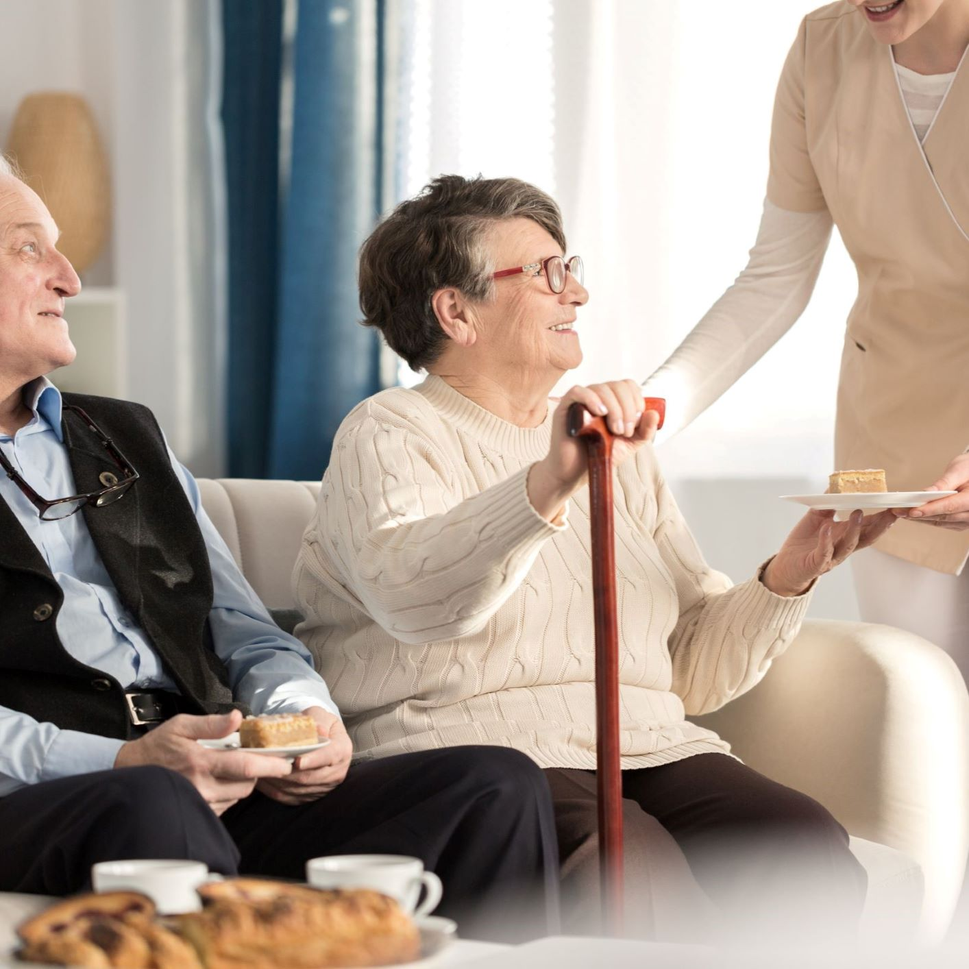 Using Walker or Cane After Joint Replacement