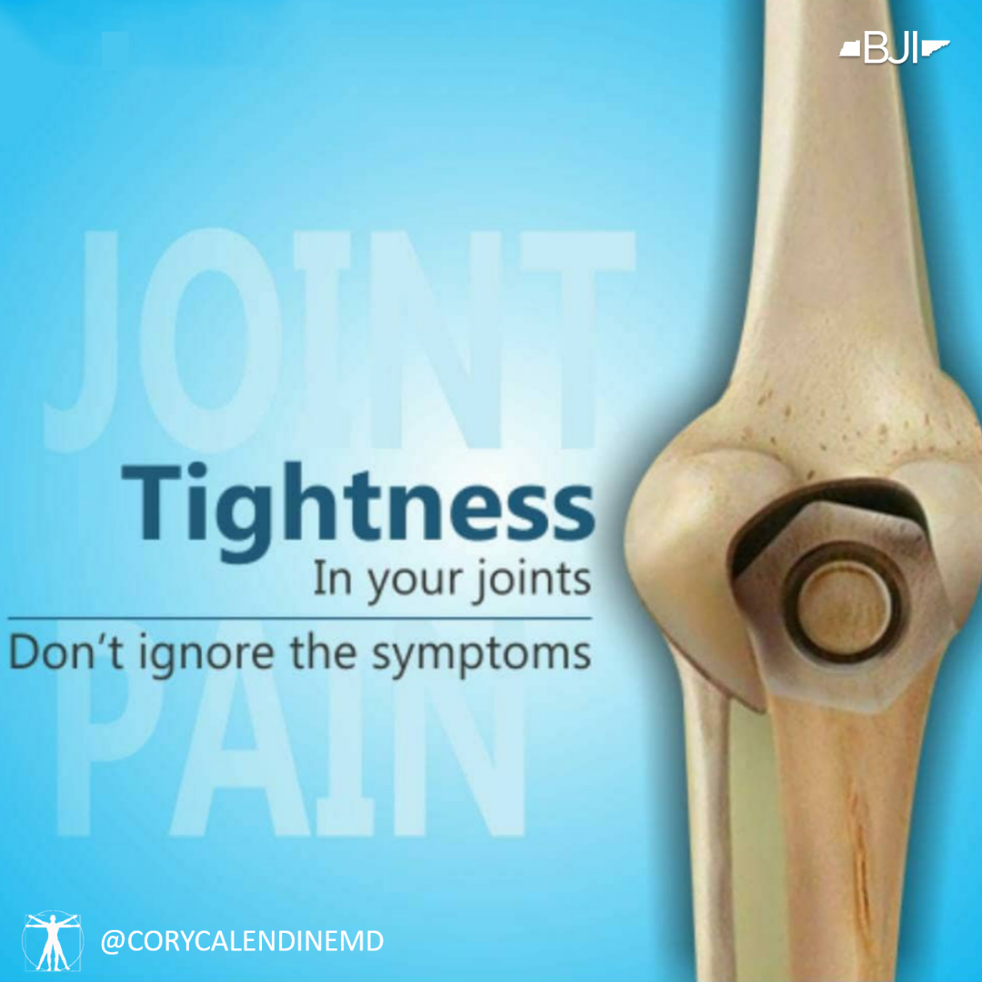 Relief for Stiff Joints