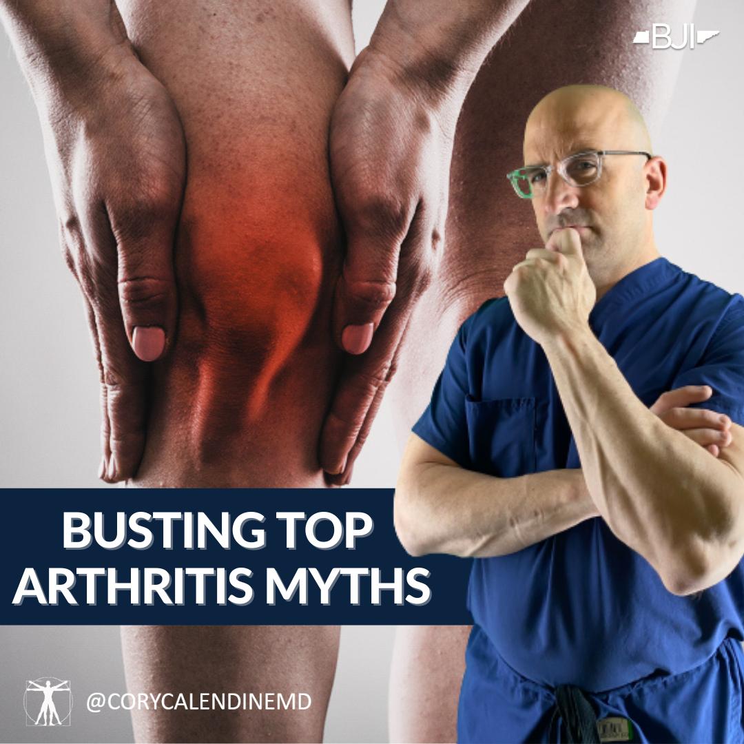 Top 6 Arthritis Myths Busted