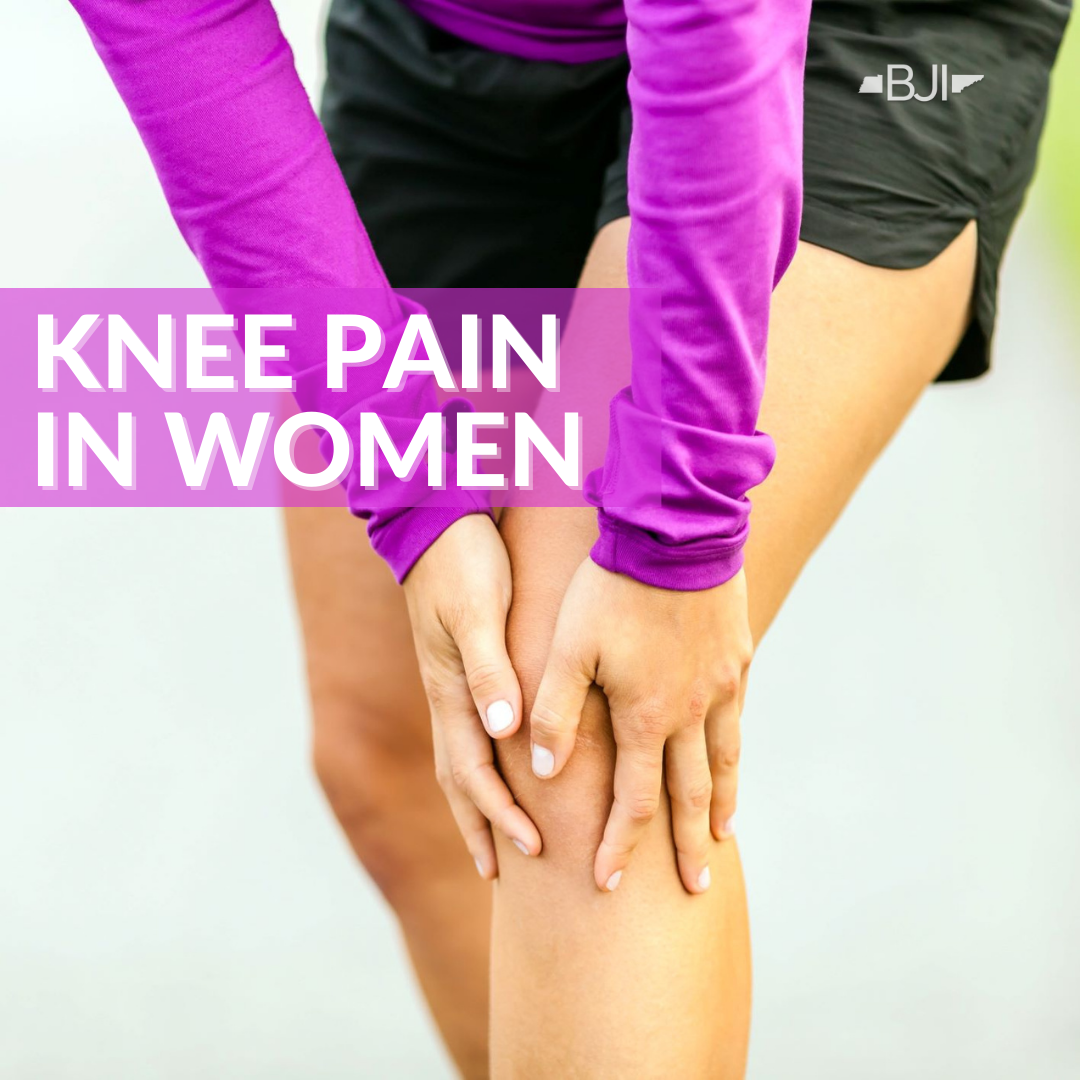 Common Causes of Knee Pain in Women
