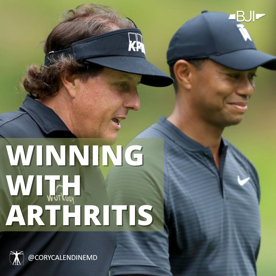 6 Pro Golfers That Overcame Arthritis