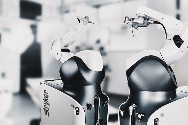Robotic-arm assisted joint replacement surgery
