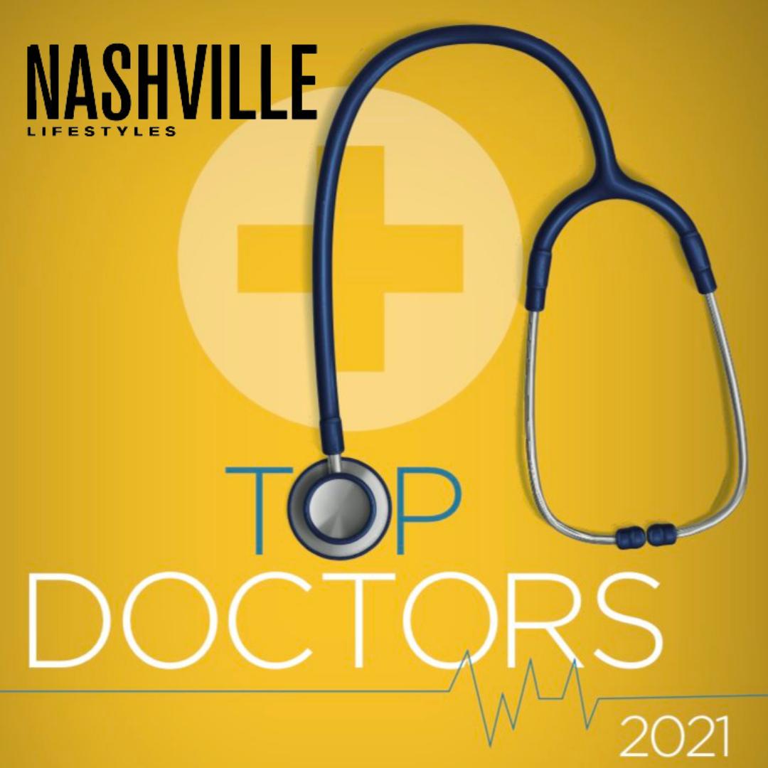 Nashville Lifestyle Magazine Top Doctor Award