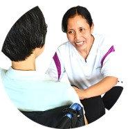 Our Caregivers can converse in Mandarin, English or Cantonese