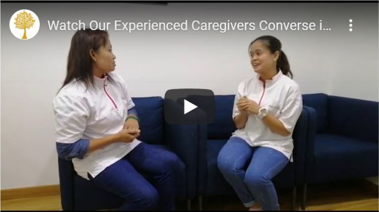 Watch Videos Of Our Caregivers Conversing in Mandarin or Cantonese!
