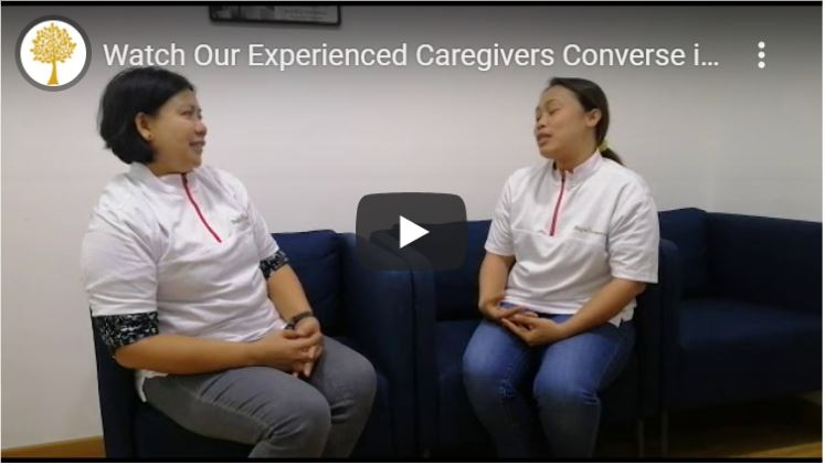 Anglo Caregivers-Watch videos of our caregivers conversing in Cantonese!