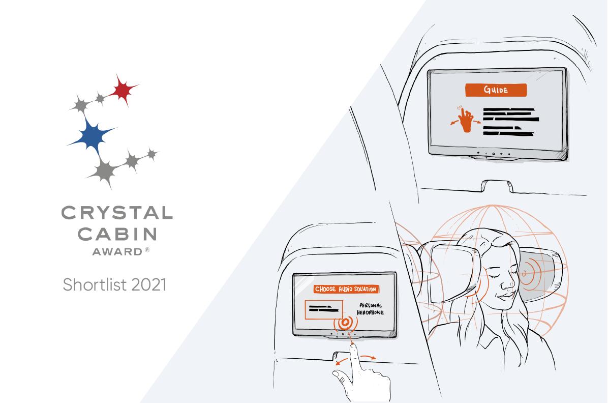 Shortlisted for Crystal Cabin Award 2021