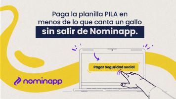 Paga la PILA sin salir de Nominapp