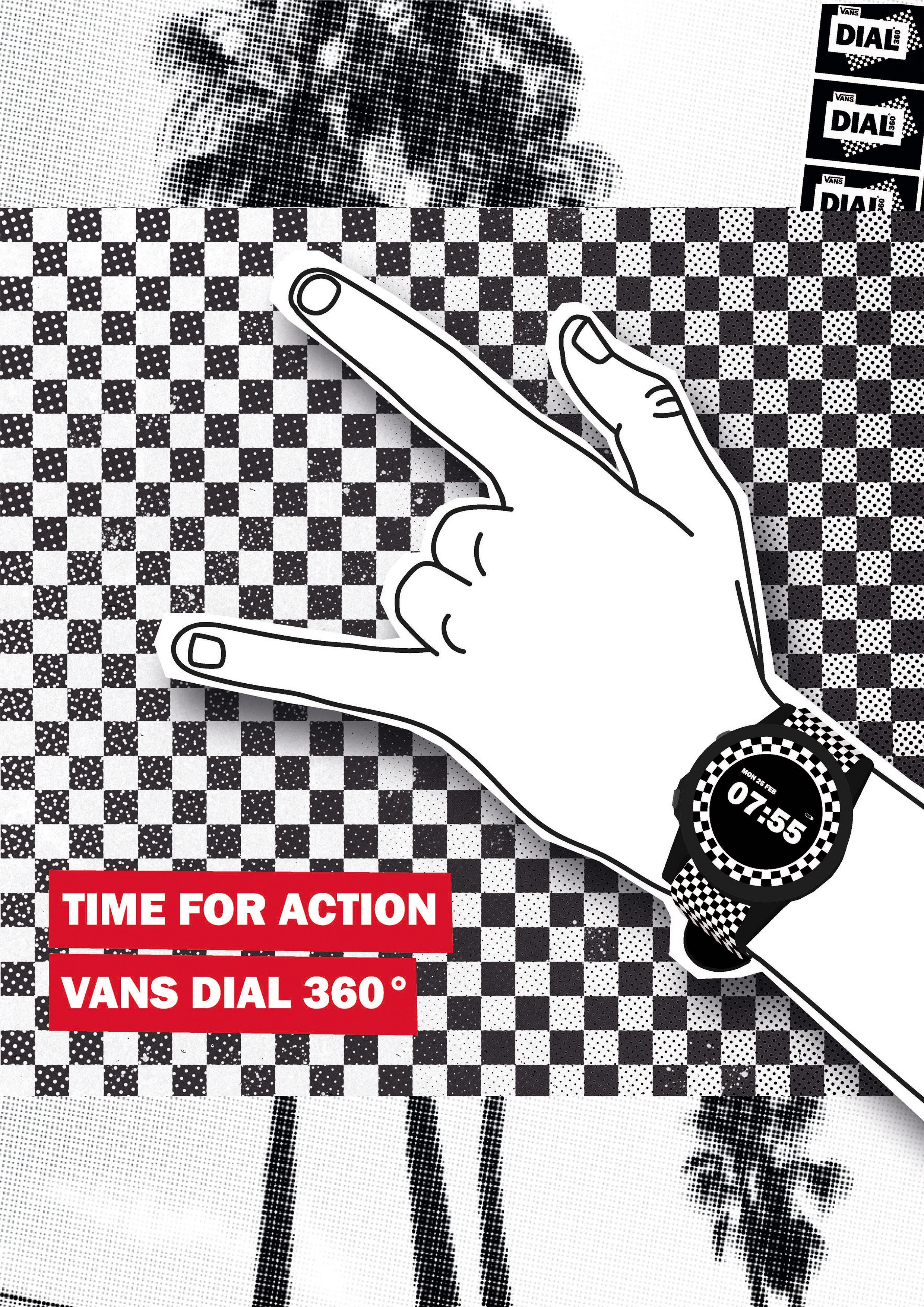 VANS DIAL 360° poster