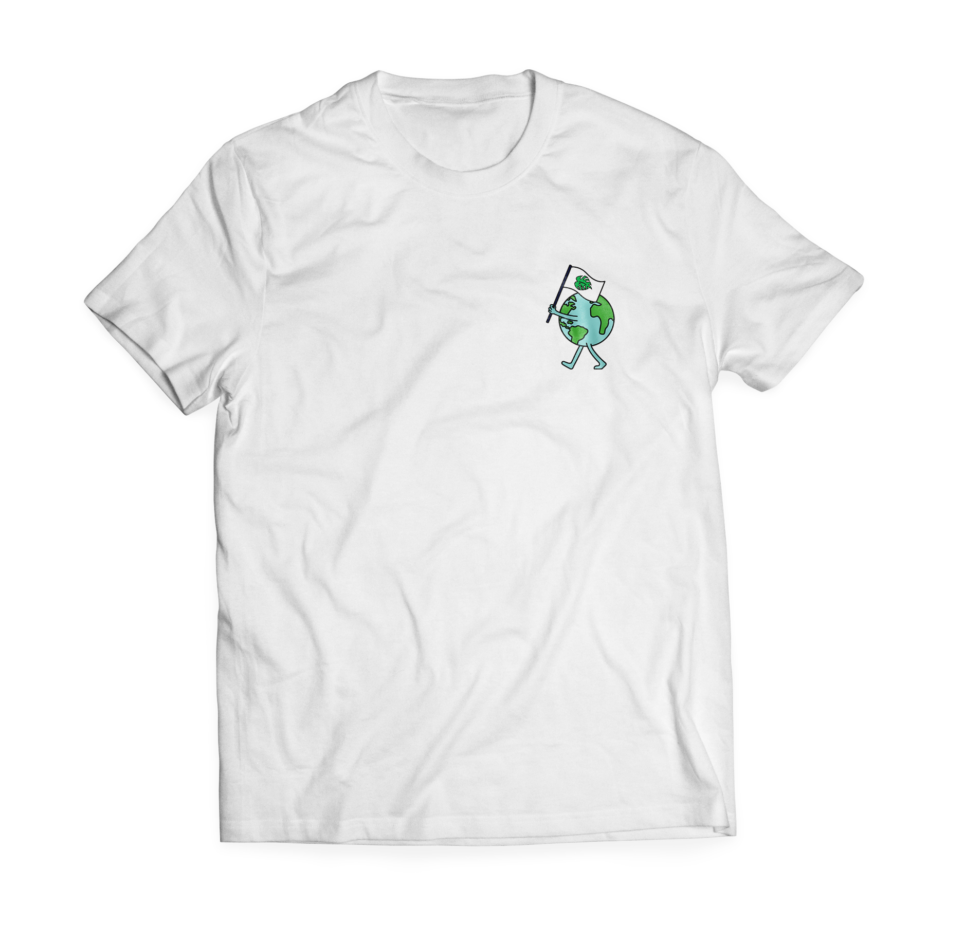 Front design of T-shirt