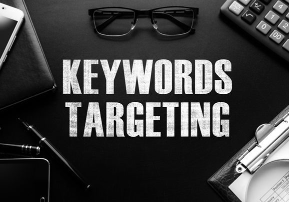 Google allows marketers to target keywords several ways