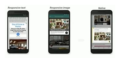 Responsive Ads are designed to show differently on different devices