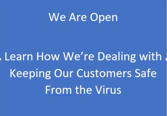 The Coronavirus doesn't have to bring your business to  close.