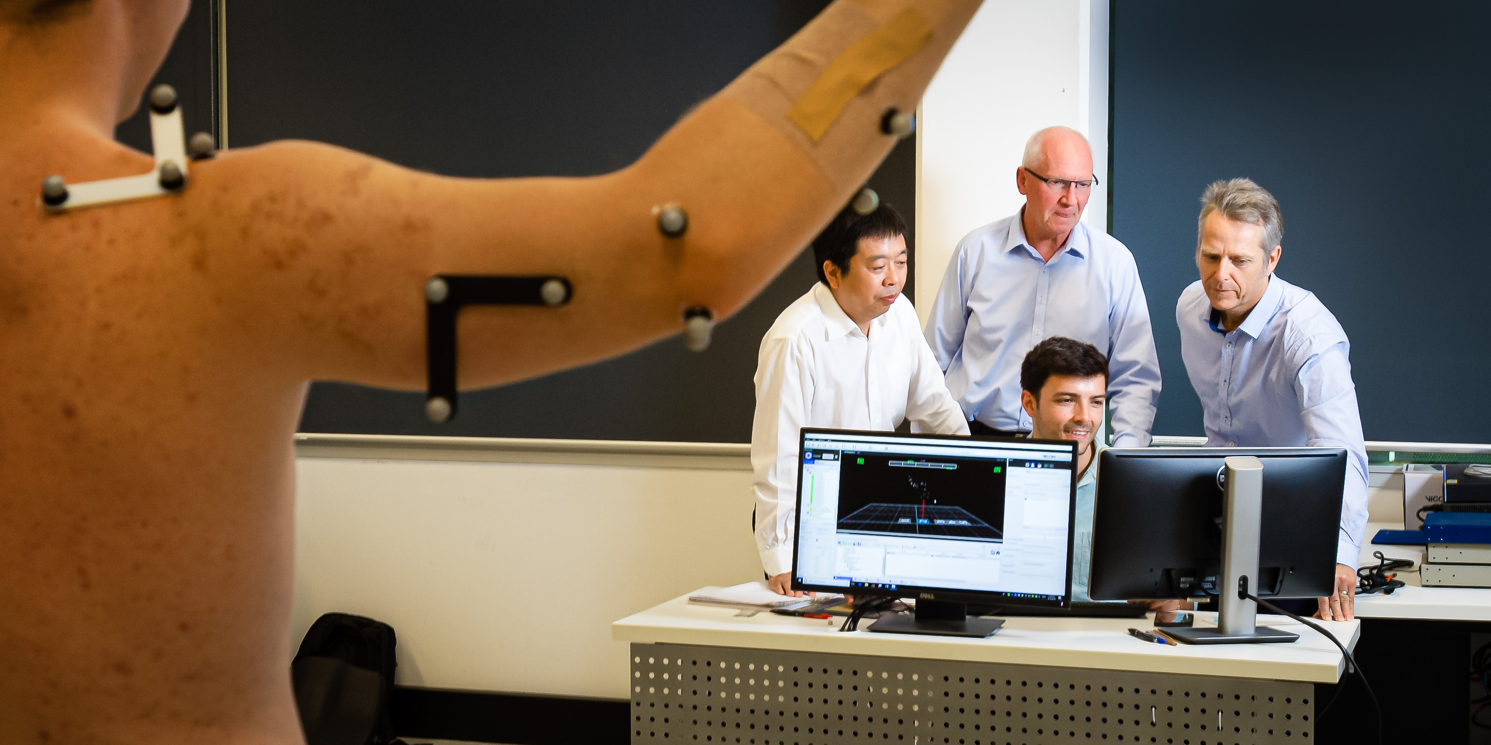 QUT ITTC Grant for Shoulder Biomechanics Research