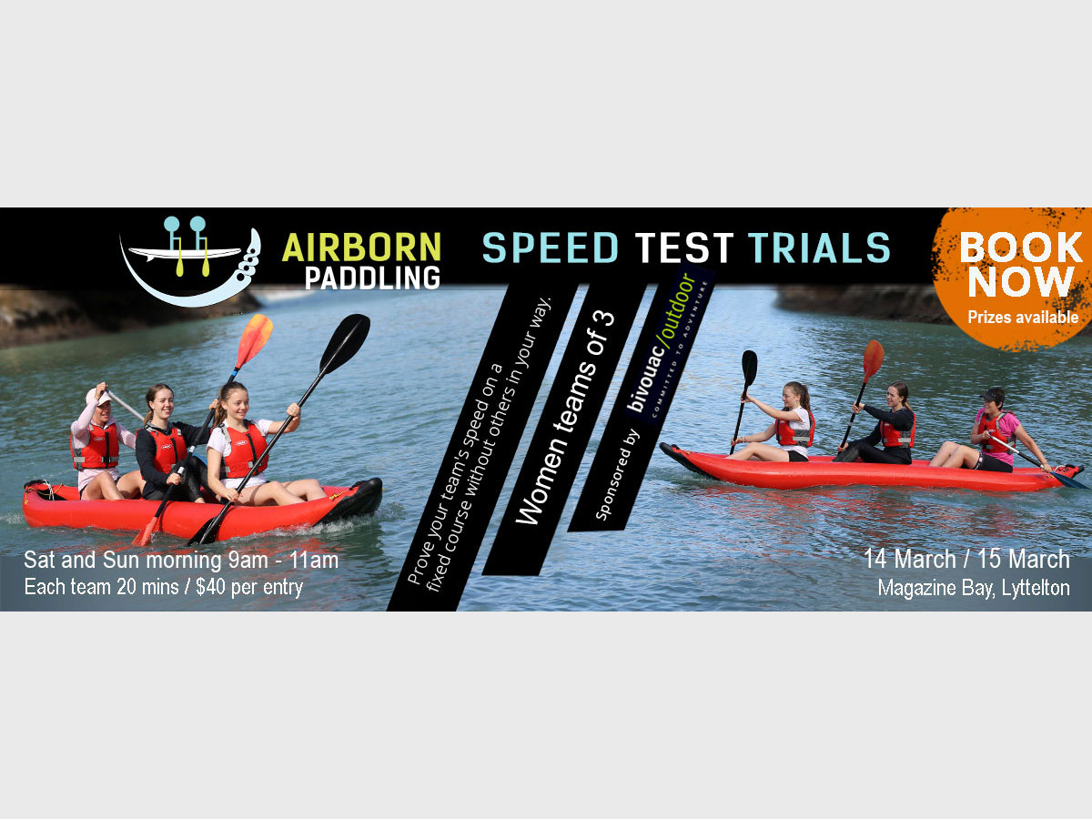flyer design for paddleboarding races