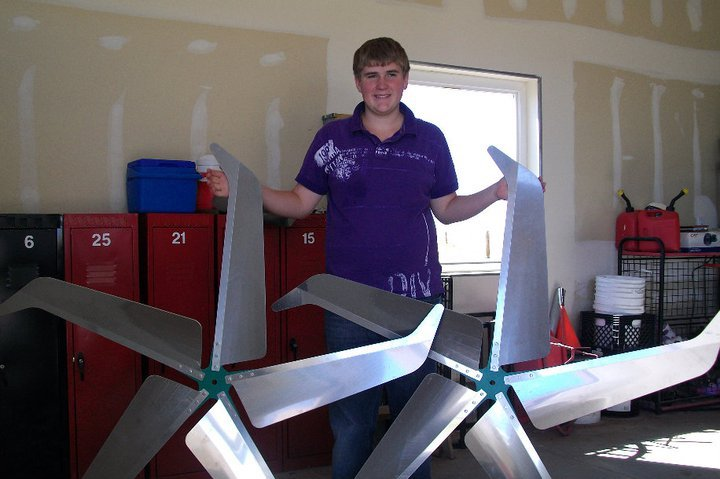 Jacob Harmon Wind Turbine Business